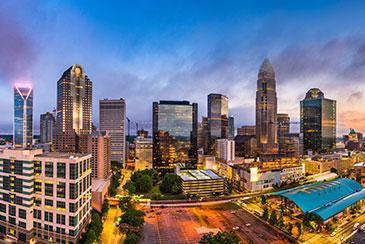 Charlotte NC Blue Sky