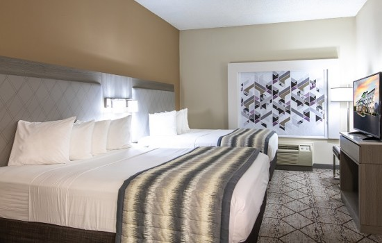 Welcome To Wingate by Wyndham Concord Charlotte Area Hotel - 2 Queen Beds