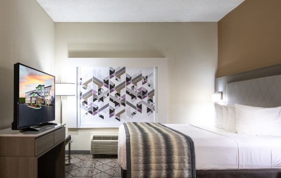 Welcome To Wingate by Wyndham Concord Charlotte Area Hotel - Accessible King Room